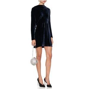 A.L.C. Marin Velvet Mini Dress